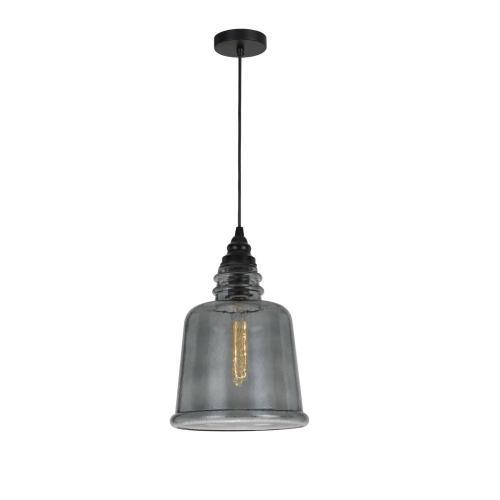 60W Scafati RippLED Glass Pendant (Edison Bulb Not included)