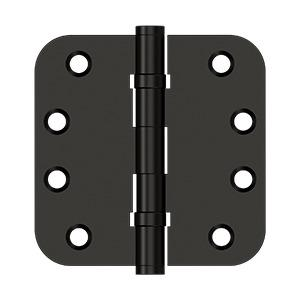 "4""x 4""x 5/8"" Radius Hinges, Ball Bearing - Oil-rubbed Bronze Product Image"