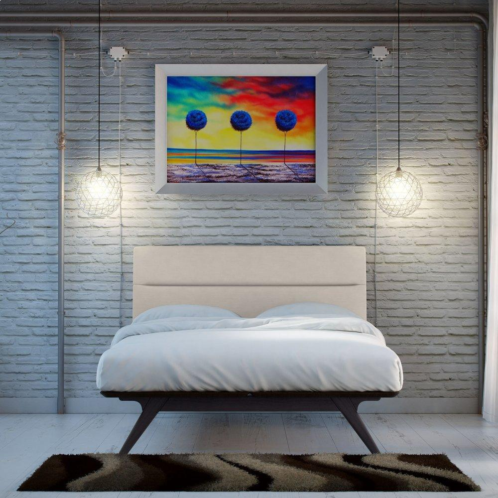 Addison 3 Piece Queen Bedroom Set in Black Beige