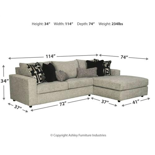 Ravenstone 2-piece Sectional With Chaise