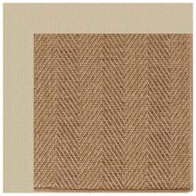 "Islamorada-Herringbone Canvas Antique Beige - Rectangle - 24"" x 36"""