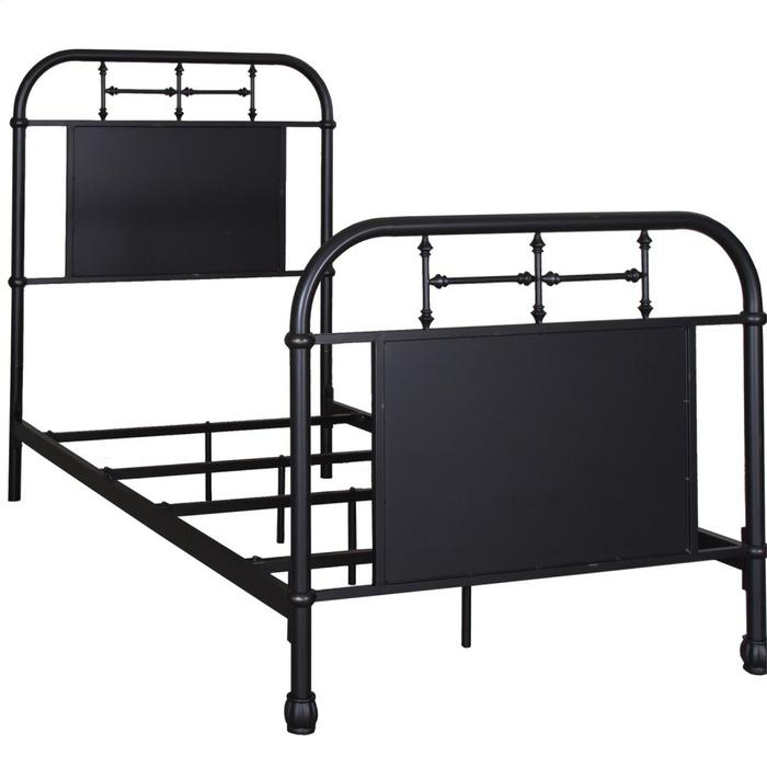 Full Metal Bed - Black