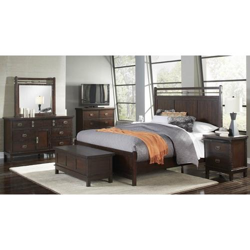 See Details - Queen Panel Bed