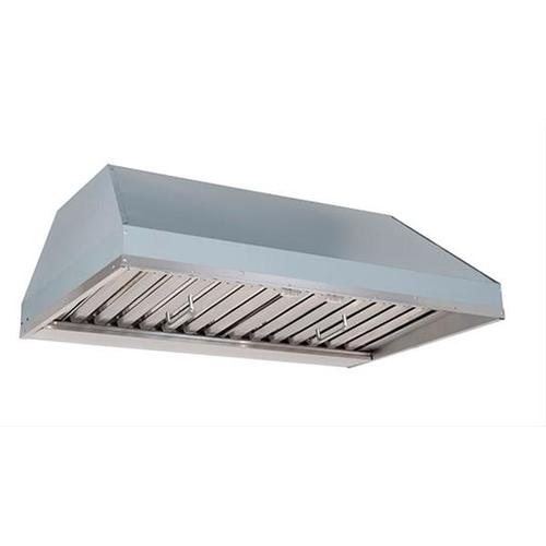 """Product Image - 46-3/8"""" Custom Hood Liner Insert designed for outdoor cooking in covered lanais 1250 Max CFM"""
