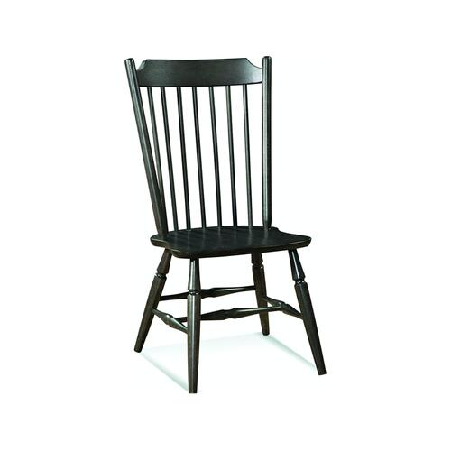 Windsor Chair in Black Pearl