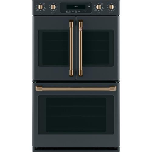 """Cafe - Café™ 30"""" Smart French-Door, Double Wall Oven with Convection"""