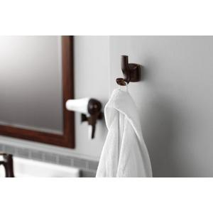 Voss oil rubbed bronze hair dryer holder