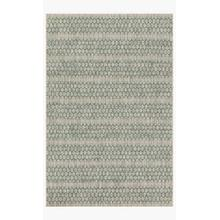View Product - IE-01 Grey / Teal Rug