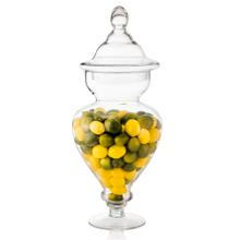 Product Image - Mini Lemons & Limes In Tall Glass Apothecary Jar