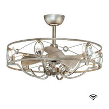 See Details - Solitaire 6-Light WiFi-enabled LED Fandelight