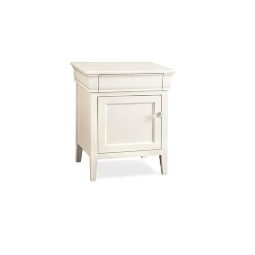 - Monticello 1 Door 1 Drawer Night Stand with Power Management