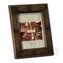 """Green Leather Picture Frame (5""""X7"""")"""
