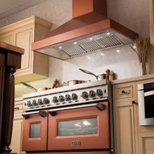 "See Details - ZLINE 30"" Designer Series Copper Finish Wall Range Hood (8697C-30) **CROWN MOLDING** 27.5"""