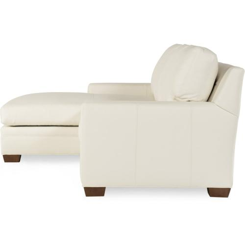 Bradington Young Hanley RAF Stationary Loveseat 8-Way Tie 223-58