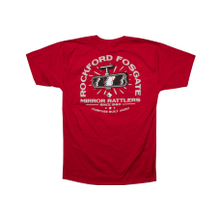See Details - Red T-shirt w/ Mirror Rattlers RF graphic-L