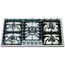 36 Inch Liquid Propane Cooktop in Stainless Steel