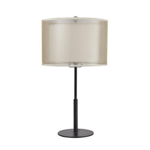 Ashland Table Lamp in Matte Black