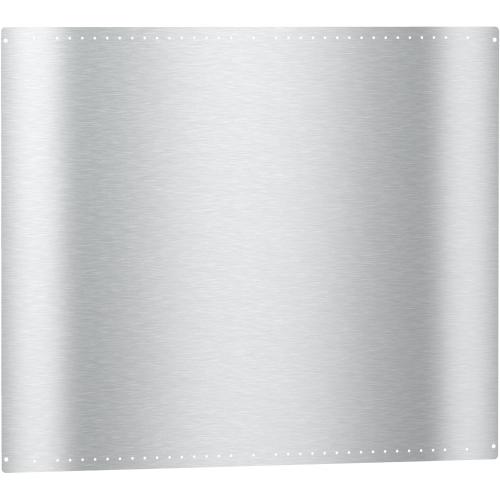 RBS 48 - Backsplash for combining a Range Hood and a Range/Rangetop.