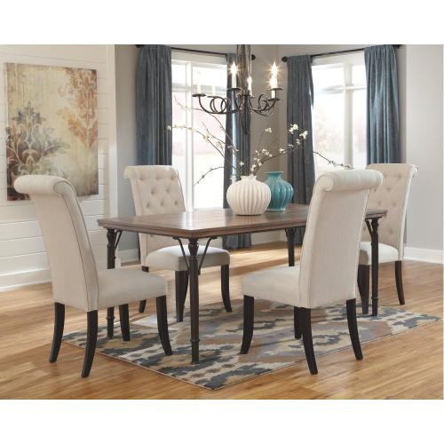 Tripton Dining Uph Side Chair Linen