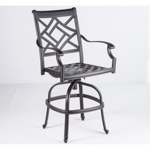 Alfresco Home - Sarasota Swivel Bar Chair