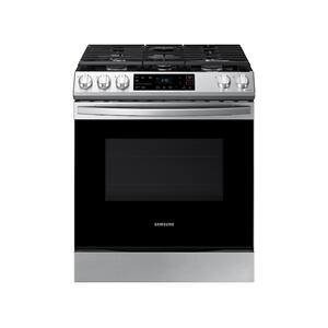Samsung Appliances6.0 cu ft. Smart Slide-in Gas Range in Stainless Steel