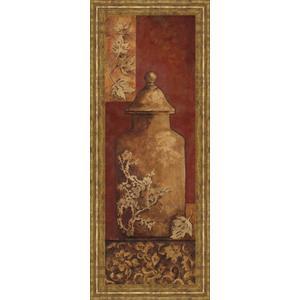 """Asian Nuvo II"" By Angela Ferrante Print in Framed Print Wall Art"