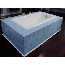 View Product - Cast Iron Bathtub - Stucco White