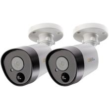 QTH8075B-2 Add-on 5.0-Megapixel Analog HD PIR Bullet Cameras (2-Pack)