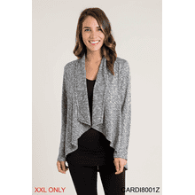 Hi-Low Cardigan - XXL (2 pc. ppk.)