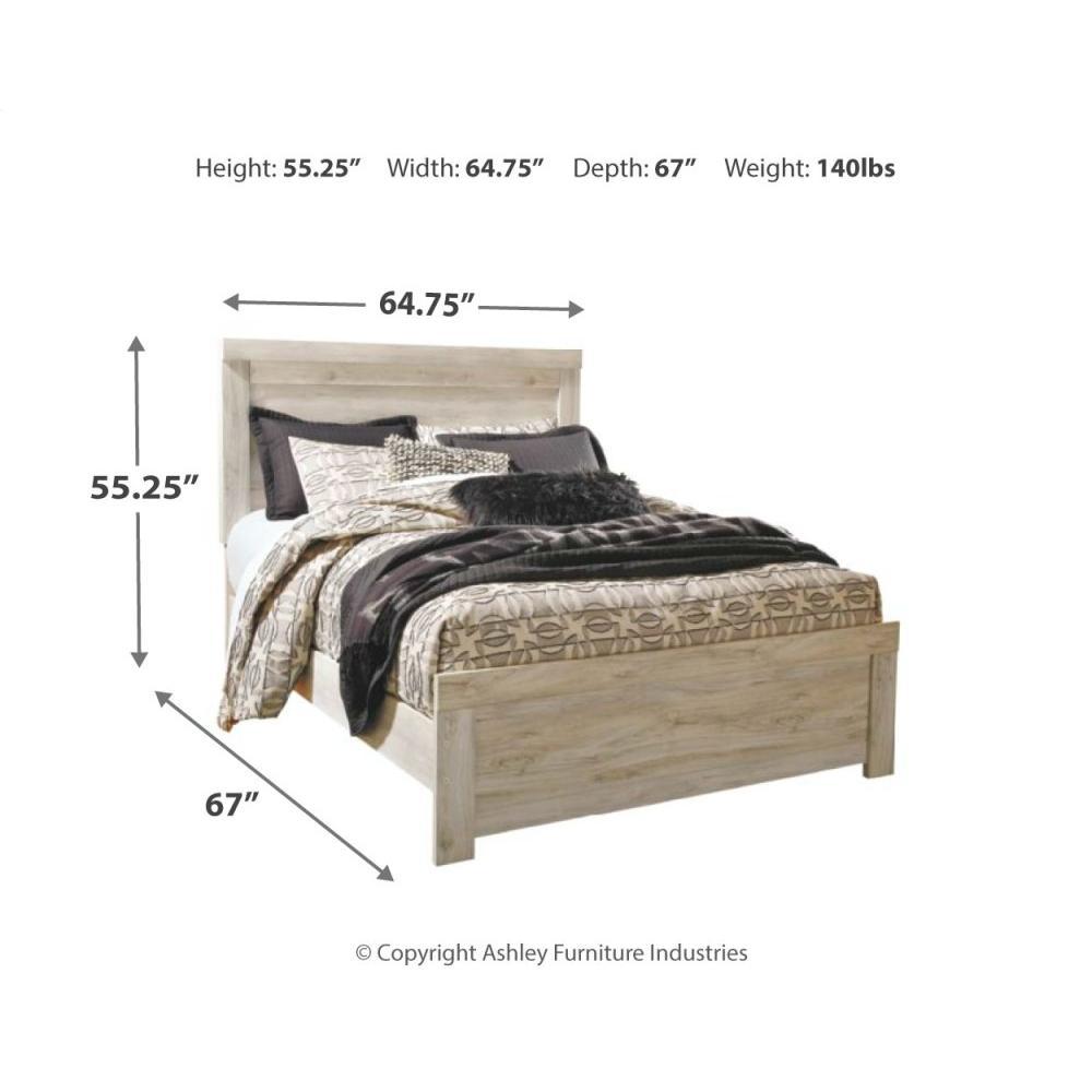 Queen Crossbuck Panel Bed With Dresser