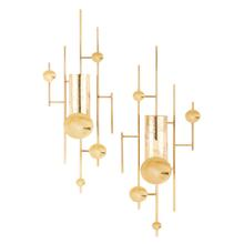 SG Gold Wall Sconces - Set of 2