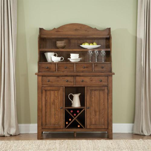 Liberty Furniture Industries - Server & Hutch