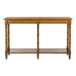Safavieh - Noam Modern Coastal Bamboo Console Table - Brown