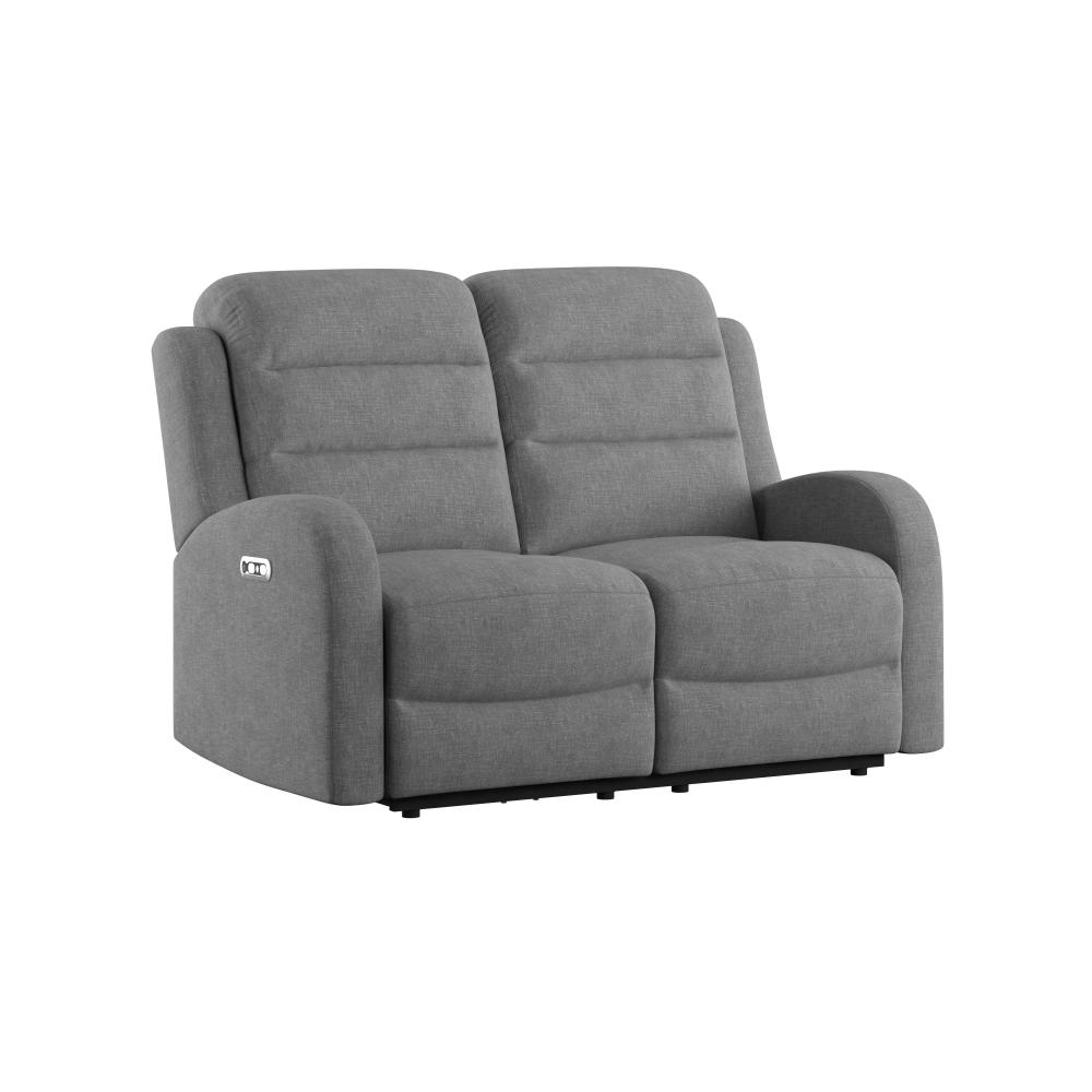Dual Power Loveseat and Headrest