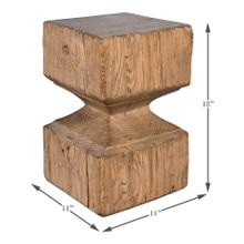 See Details - Beam End Stool