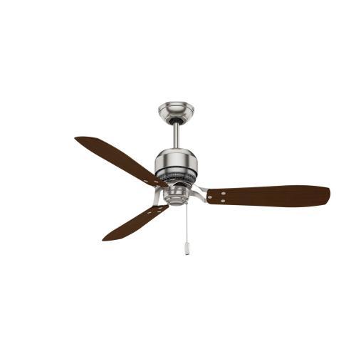 Tribeca 52 inch - Brushed Nickel - Walnut