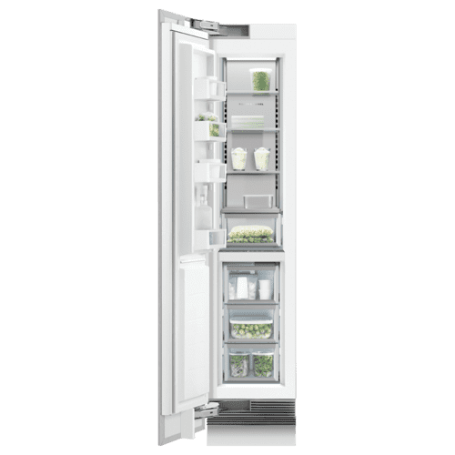 "Integrated Column Freezer, 18"", Ice"