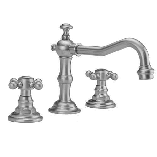 White - Roaring 20's Faucet with Ball Cross Handles- 1.2 GPM