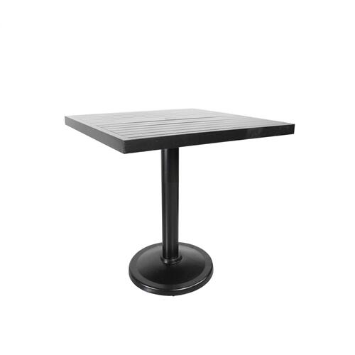 "Monaco 36"" Square Pedestal Balcony Table"