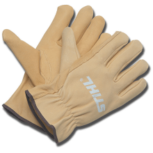 For homeowners seeking comfort and durability, choose STIHL HomeScaper Series™ leather gloves.