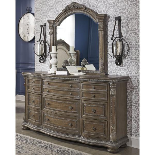 Charmond Dresser and Mirror