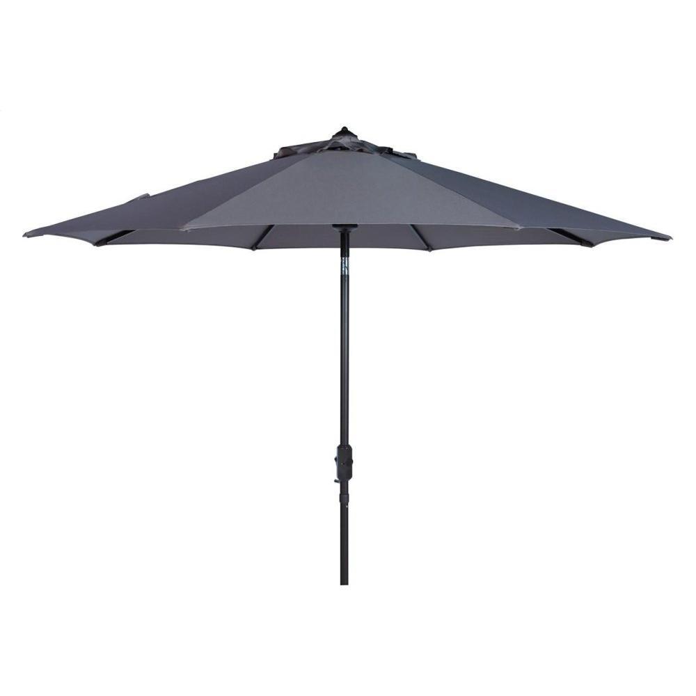 Uv Resistant Ortega 9 Ft Auto Tilt Crank Umbrella - Grey
