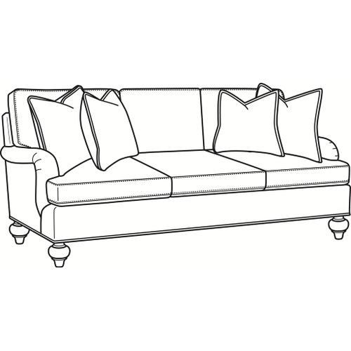 Braxton Culler Inc - Courtney 3 over 3 Sofa