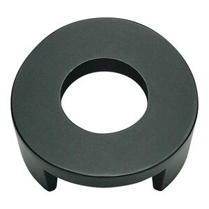 Centinel Round Knob 1 1/4 Inch (c-c) - Matte Black Product Image