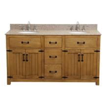 Countryside Bathroom Vanity - 60 Inch