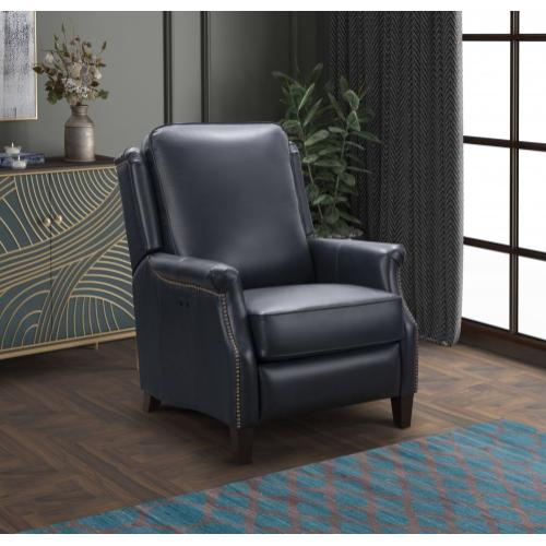 Riley Power Recline Blue