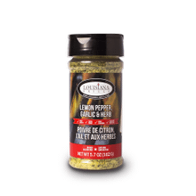 Louisiana Grills Spices & Rubs - 5 oz Lemon Pepper, Garlic & Herb