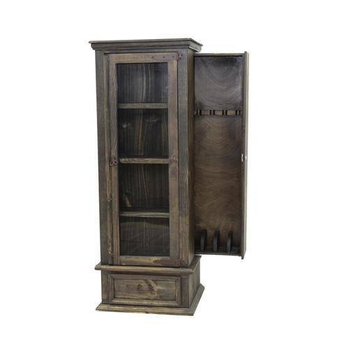 Medio Gun Curio Cabinet