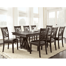 Adrian 9 Piece Set (Table & 8 Side Chairs)