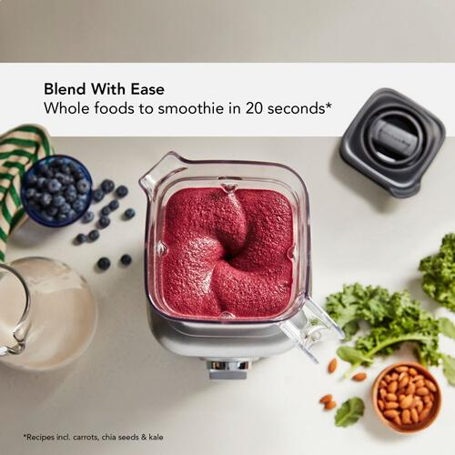 K400 Variable Speed Blender with Tamper - Passion Red